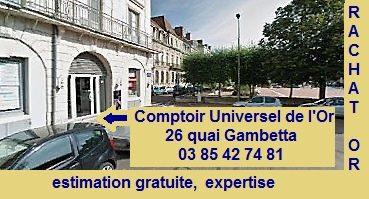Comptoir universel de l 39 or chalon sur sa ne - Comptoir universel de l or ...