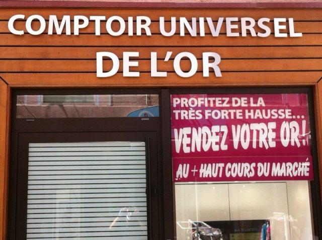 Comptoir universel de l 39 or gap gap - Comptoir universel de l or ...