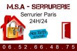 M.S.A - Serrurerie Paris