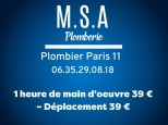 M.S.A.Plomberie