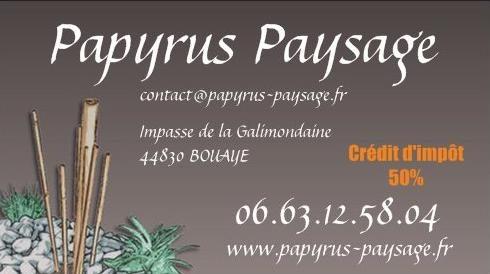 papyrus paysage bouaye. Black Bedroom Furniture Sets. Home Design Ideas